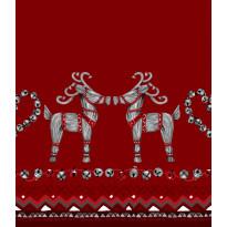 Kappaverho Vallila Olkipukki, 60x250cm, punainen