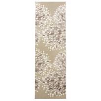 Käytävämatto Vallila Sydänpuu, 68x220cm, harmaa/valkoinen