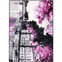 Matto Aurajoki 133x190 cm pinkki