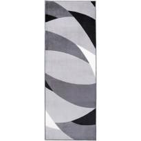 Käytävämatto Swing 80x230 cm musta