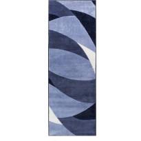 Käytävämatto Vallila, Swing, 80x230cm, sininen
