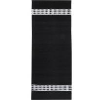 Käytävämatto Vallila, Kirstu, 80x250cm, mustavalkoinen