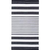 Käytävämatto Vallila, Kauhava, 80x150cm, mustavalkoinen