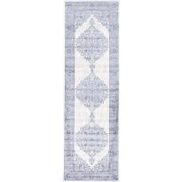 Käytävämatto Vallila, Edith, 68x220cm, sininen