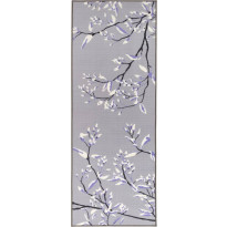 Käytävämatto Vallila, Heli, 80x250cm, laventeli