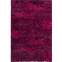 Käytävämatto Vallila, Usva, 80x160cm, viininpunainen