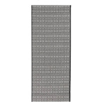 Käytävämatto Vallila, Domino, 80x200cm, valkoinen/musta