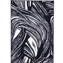 Matto Vallila, Kaisla, 160x230cm, mustavalkoinen
