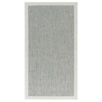 Käytävämatto Vallila Mutteri 250x80cm, valkoinen/harmaa