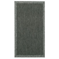 Käytävämatto Vallila Mutteri 80x300cm, mustaharmaa