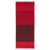 Käytävämatto Vallila Juhani 200x80cm, punainen