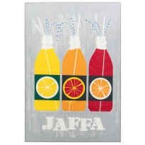 Matto Vallila Jaffa 190x133cm, vaaleanharmaa