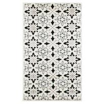 Käytävämatto Vallila Polkka 110x68cm, valkoinen