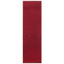 Käytävämatto Vallila Perhonen 220x68cm, punainen