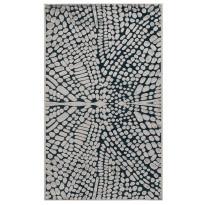 Käytävämatto Vallila Perhonen 110x68cm, mustaharmaa