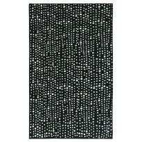 Käytävämatto Vallila Ropina 110x68cm, musta