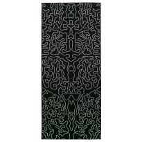 Käytävämatto Vallila Juuri 160x68cm, musta