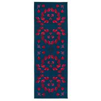 Käytävämatto Vallila Hymni 200x80cm, sininen/punainen