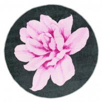 Matto Vallila Lily Ø133cm, vaaleanpunainen