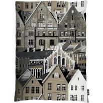 Tyynynpäällinen Bergen 80x60 cm ruskea