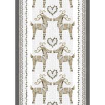 Vahaliina Olkipukki 140x250 cm beige