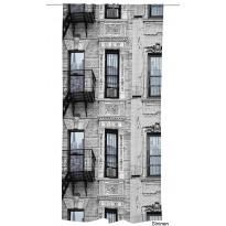 Sivuverho Vallila Mulberry St., 140x250cm, eri värivaihtoehtoja