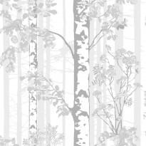 Tapetti Luontopolku 5219-2 0,53x11,2 m valkoinen