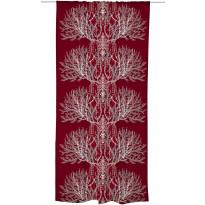 Sivuverho Varvikko 140x240 cm punainen