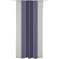 Sivuverho Linnunrata 140x250 cm sininen