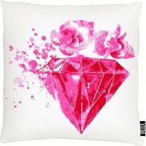 Tyynynpäällinen Vallila Rubiini, 43x43cm, pinkki