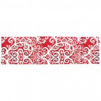 Kaitaliina Vallila Naimakauppa, 150x40cm, punainen