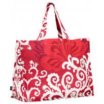 Ostoskassi Vallila 45x37cm, punainen