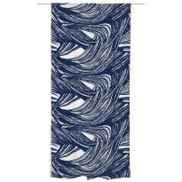 Sivuverho Vallila Kaisla, 140x250cm, sininen