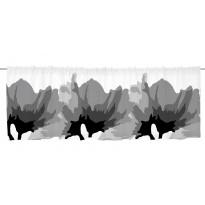Verhokappa Vallila Meeri 60x250cm, harmaa