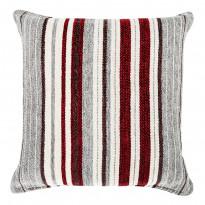 Tyynynpäällinen Vallila Leinikki 50x50cm, punaharmaa