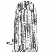 Patakinnas Vallila Kerttu, 16x33cm, musta