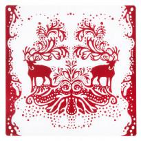 Pöytätabletti Vallila Aatto, 37x37cm, punainen