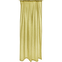 Sivuverho Vallila Formula, 140x270cm, keltainen