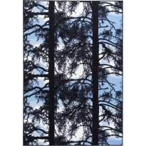 Matto Vallila, Kelohonka, 160x230cm, sininen