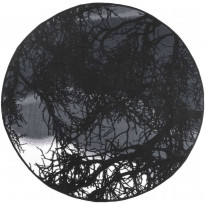 Keskilattiamatto Vallila Kelohonka, 133x133cm, harmaa