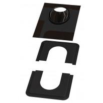 Piippu-aluskatteen tiiviste Vilpe no. 1, musta