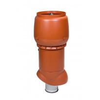 Poistoputki Vilpe XL 160P/ER/700 eristetty, tiilenpunainen