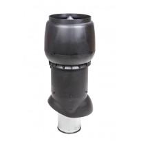 Poistoputki Vilpe XL, Ø200P/ER/700, eristetty, musta