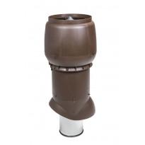 Poistoputki Vilpe XL 200P/ER/700 eristetty, ruskea