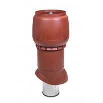 Poistoputki Vilpe XL 200P/ER/700 eristetty, punainen