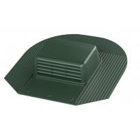 Kattotuuletusventtiili Vilpe-KTV/harja, vihreä