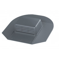 Kattotuuletusventtiili Vilpe-KTV/harja, harmaa
