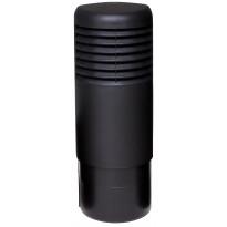 Tuuletuspaalun hattu Ross Vilpe 125, musta