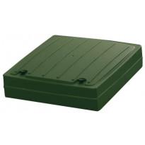 Kattoluukku huopakatolle Vilpe, vihreä