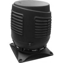 Tuloilmaputki Vilpe Intake 160S, 300x300, musta